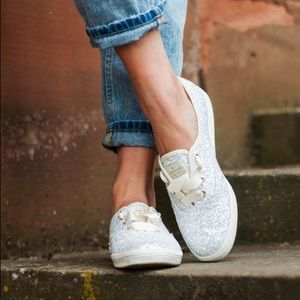 Kate Spade Keds New York Champion Glitter Sneakers